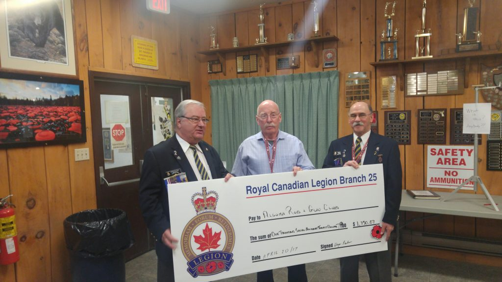 Royal Canadian Legion Branch 25 Donates AED to ARGC