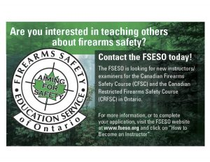 Interested in teaching others about firearms safety?